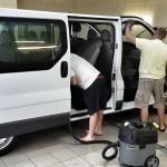 Čistenie dodávky (auta)