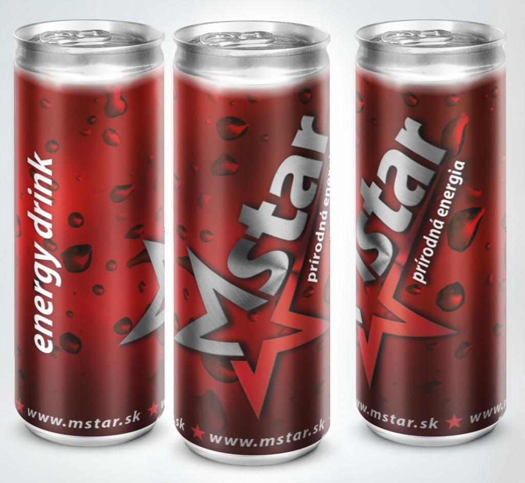 Mstar energetický nápoj