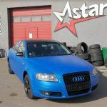 Total Dip na aute - modré Audi