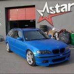 Total Dip na aute - modré BMW