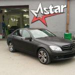 Total Dip na vozidle Mercedes - čierna farba